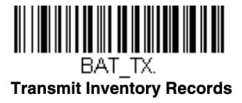Transmit barcode