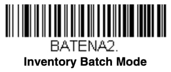 Setup barcode